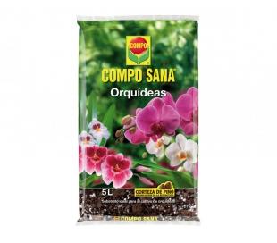 SUBSTRATO ORQUIDEAS COMPO SANA 5 L.