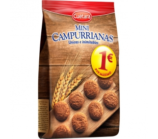 GALLETAS MINI CAMPURRIANAS CUETARA 300 GRS.
