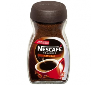 CAFE SOLUBLE NATURAL NESCAFE 100 GR.