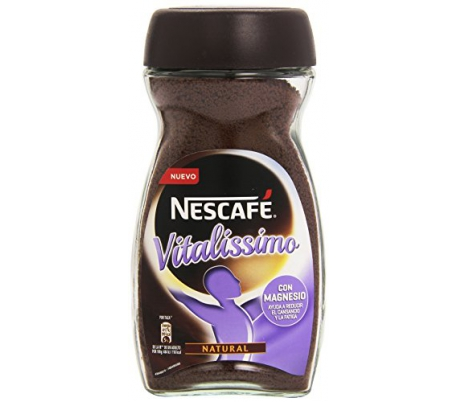 CAFE SOLUBLE DESCAFEINADO VITALIS NESCAFE 200 GRS.