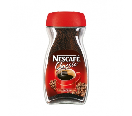 CAFE SOLUBLE DESCAFEINADO NESCAFE 100 GR.