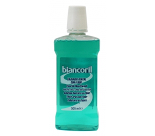 ENJUAGUE CON FLUOR BIANCORIL 500 ML.