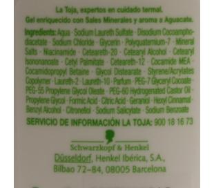 GEL DE BAÑO HIDRATANTE LA TOJA 500 ML.