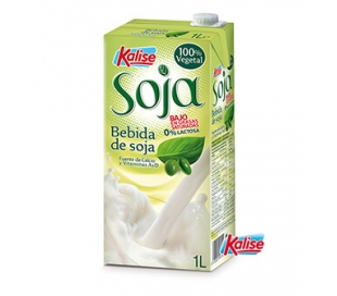 BEBIDA SOJA NATURAL KALISE 1000 ML.