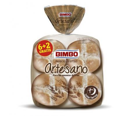 PANECILLOS ESTILO ARTESANO BIMBO PACK 6 2 UDS.