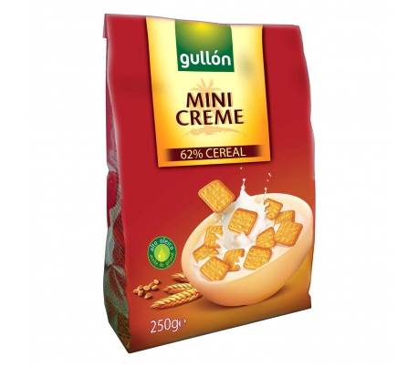 GALLETAS MINI CREME GULLON 250 GRS.