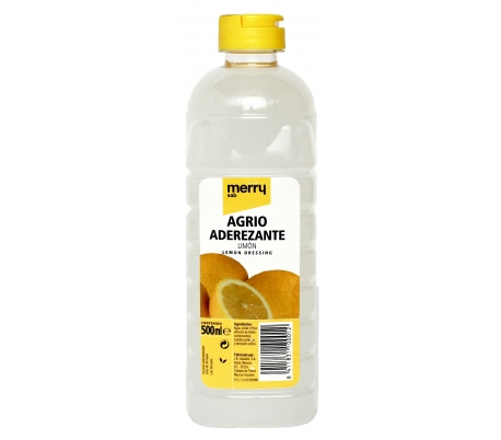 AGRIO LIMON MERRY 500 ML.