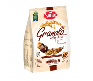 CEREALES GRANOLA CHOCOLATE SANTE 350 GRS.