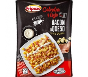 BACON QUESO PAPAS RANCHERAS FRIPOZO 330 GRS.