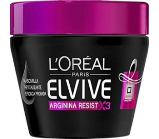 MASCARILLA ARGININA RESIST ELVIVE 300 ML.