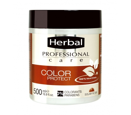 MASCARILLA PROF.COLOR PROTECT HERBAL 400 ML.