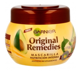 MASCARILLA AGUACATE Y KARITE ORI.REMEDIES 300 ML.
