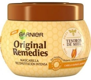 MASCARILLA TESOROS DE MIEL ORI.REMEDIES 300 ML.