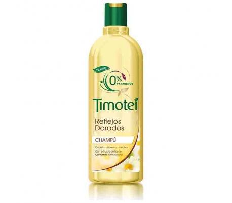 CHAMPU REFLEJOS DORADOS TIMOTEI 400 ML.