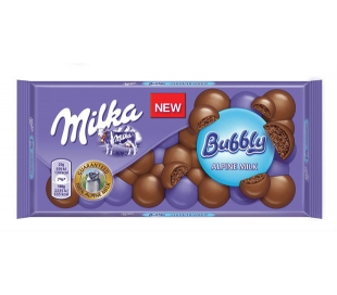 CHOCOLATE BUBBLY MILKA 90 GR.