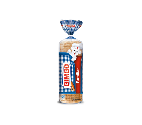 PAN DE MOLDE FAMILIAR BIMBO 700 GR.