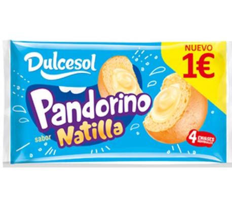 BOLLERIA PANDORINO NATILLA DULCESOL 240 GRS.
