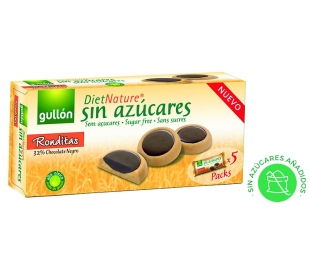 GALLETAS S/AZ.RONDITAS GULLON DIET 186 GR.