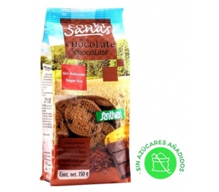 GALLETAS C.SANAS CHOCOLATE SANTIVERI 150 GR.