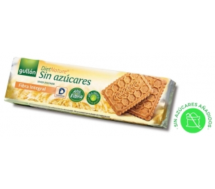 GALLETAS S/AZ.FIBRA INTEGRAL GULLON DIET 170 GR.