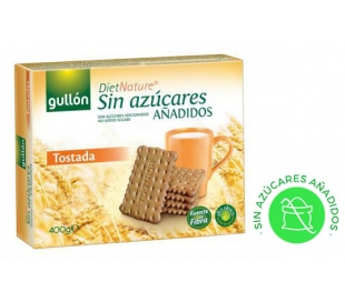 GALLETAS TOSTADA DIET-NATURE GULLON 400 GRS.