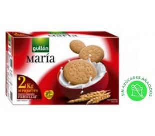 GALLETAS MARIA LECHE GULLON 2 KG.