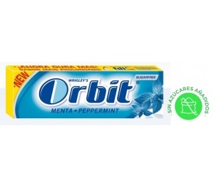 CHICLES PEPPERMINT ORBIT 14 GR.