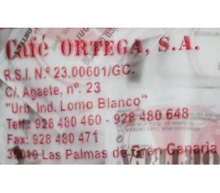 AZUCAR BARES SOBRES ORTEGA 10000 GRS.