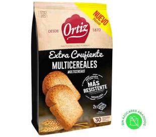 PAN TOSTADO MULTICEREALES ORTIZ 288 GRS.