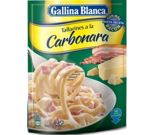 TALLARINES CARBONARA GALLINA BCA. 145 GR.