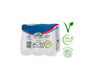 YOG.L-CASEI ACTIV SIN LACTOSA DON SIMON PACK 6X125 GRS.
