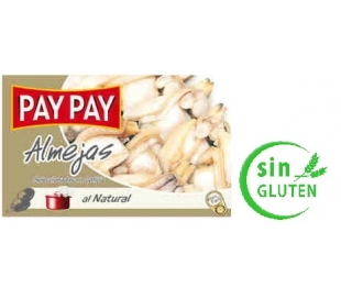 ALMEJAS NATURAL PAY PAY 115 GRS.