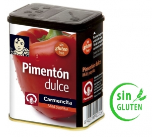 CONDIMENTO PIMENTON DULCE LATA CARMENCITA 75 GRS.