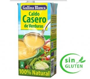 CALDO CASERO VEGETAL GALLINA BCA. BRIK 1 L.