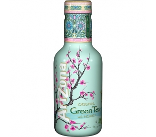BEBIDA DE TE TE VERDE C/ MIEL PET ARIZONA 500 ML.