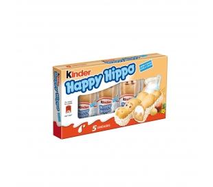 BARQUILLO HAPPY HIPPO AVELLANA KINDER 5 UD.