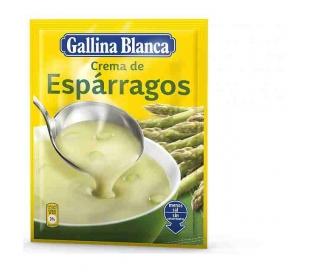 CREMA ESPARRAGOS GALLINA BLANCA 80 GR.