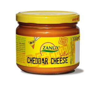 SALSA CHEDDAR CHEESE ZANUY 300 GR.