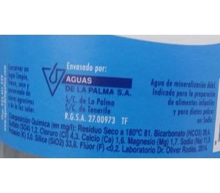 AGUA DE LA PALM.C/GAS1,5+