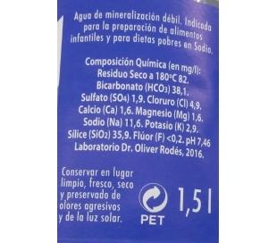 AGUA DE LA PALMA 1,5 L. +
