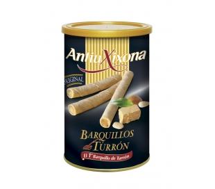 BARQUILLOS RELLENOS TURRON ANTIUXIXONA 200 GRS.