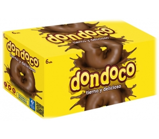 DONUTS DONDOCO DONUTS PACK 6X46 GRS.