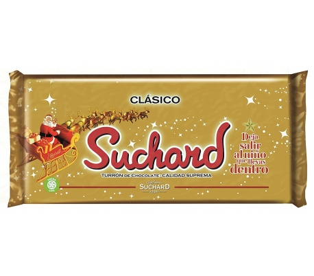 TURRON CHOCOLATE SUCHARD 260 GRS.
