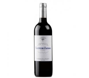 VINO TINTO CRIANZA,CASTILLA LEON TORREMILANOS 75 CL.