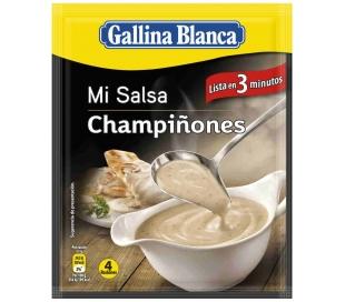 SALSA CHAMPIÑONES GALLINA BLANCA 29 GR.