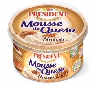 queso-mousse-nueces-president-100-grs