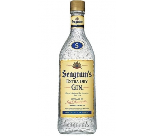 GINEBRA EXTRA DRY SEAGRAMS 700 ML.