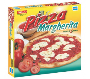 PIZZA MARGHERITA MANTUA 300 GR.