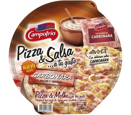 PIZZA CARBONARA CAMPOFRIO 360 GRS.