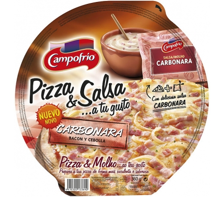 PIZZA CARBONARA C.F.410GR